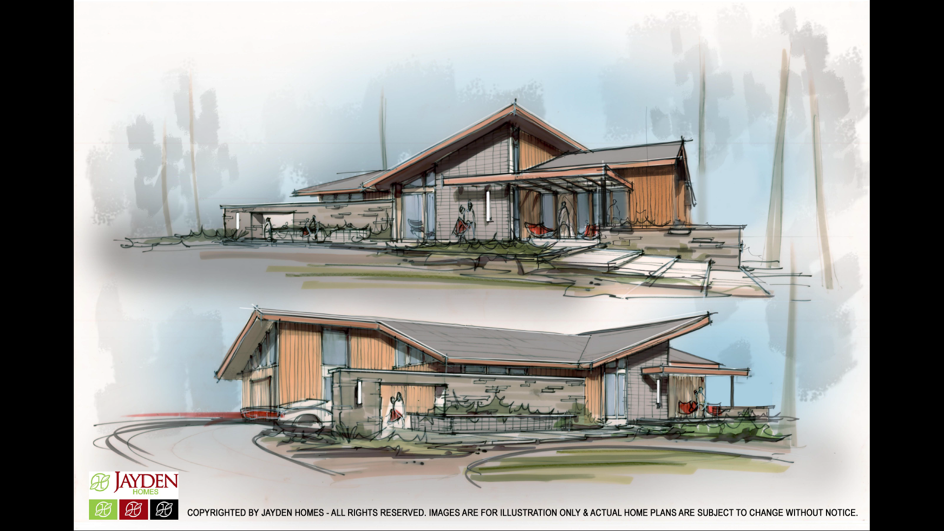 NEW Grandview Mid-Century Concept Design!