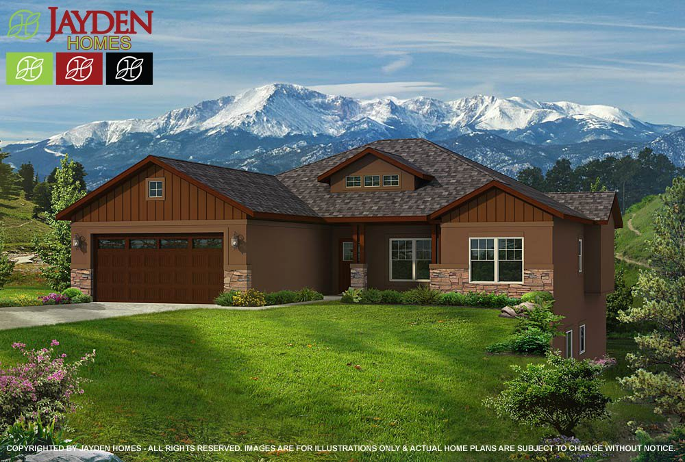 We Offer This Floor Plan In Three Different Elevations That Captures The  True Colorado Home Design.